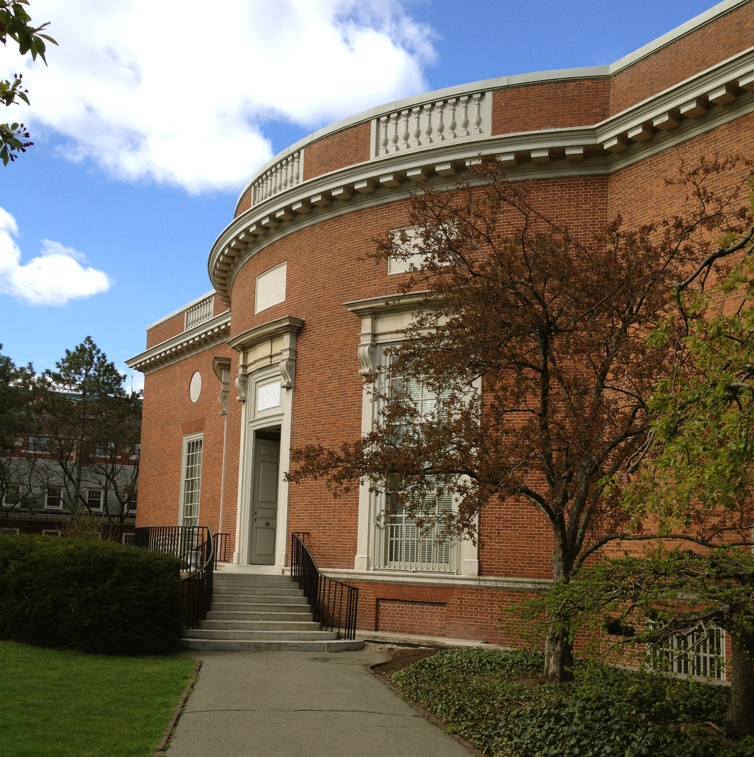 Houghton Library. Photo credit: C. K. Ash